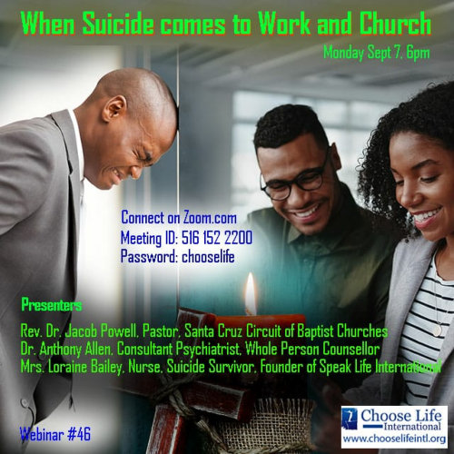 When Suicide Comes to Work and Church