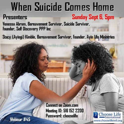 When Suicide Comes Home