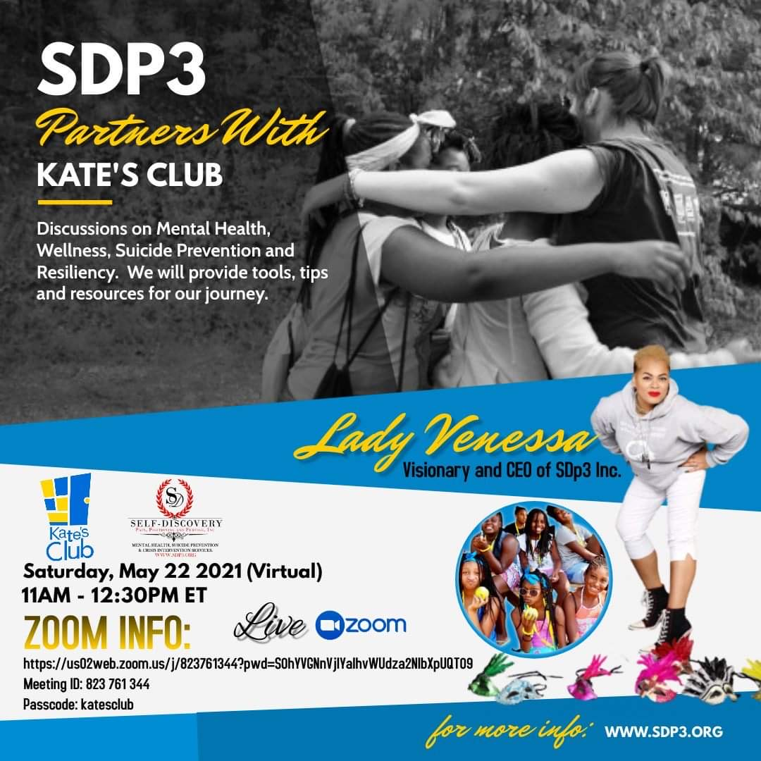 SDP3 Partners With Kate's Club