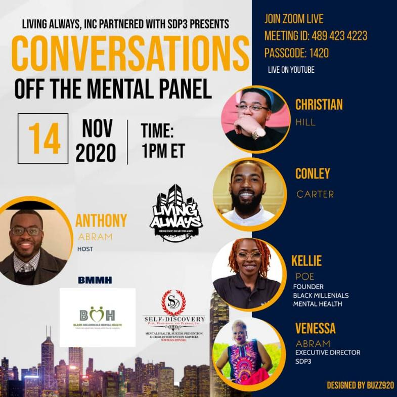 Conversations off the mental panel
