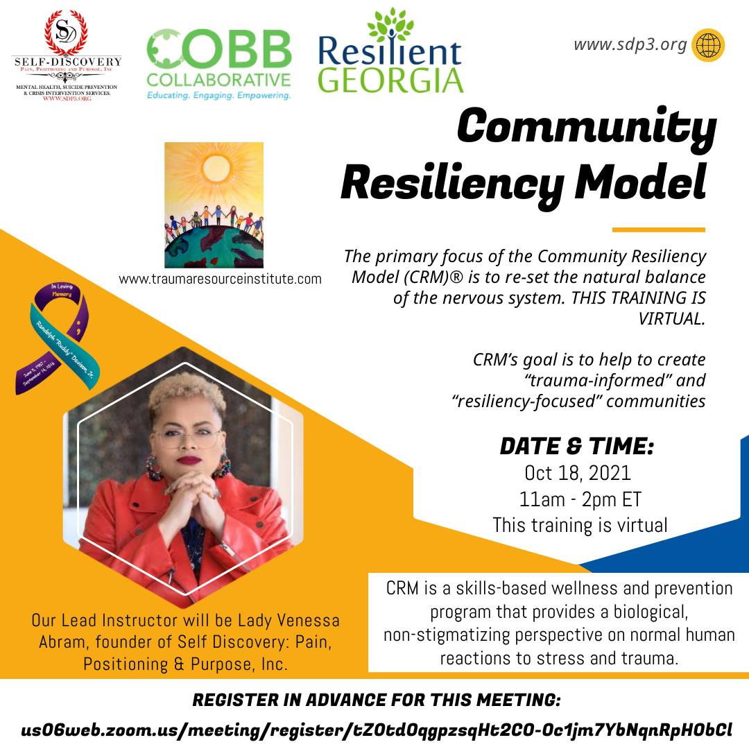 Community Resiliency Model