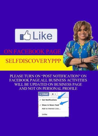 Facebook page flyer