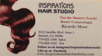 inspirations hair studio