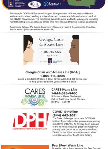 Georgia Crisis and Access line